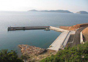 Κατασκευή Αλιευτικού Καταφυγίου Αγ. Νικολάου Δήμου Θίσβης Βοιωτίας