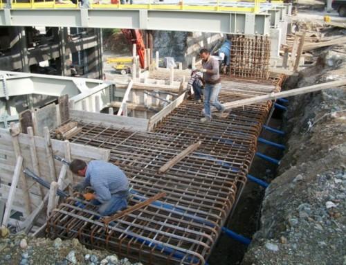Κατασκευή Θεμελίωσης Μεταλλικών Βιομηχανικών Κτιρίων