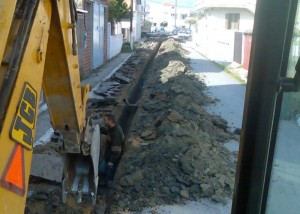 Αντικατάσταση Αμιαντοσωλήνων στα Δίκτυα Ύδρευσης Δήμου Αμαρυνθίων