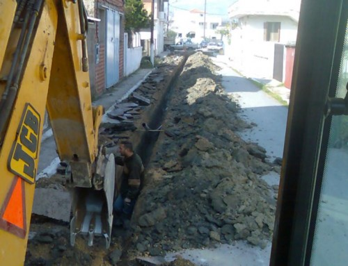 Water Supply Network, Municipality of Amarinthos