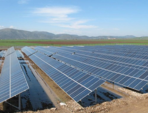 Construction of Infrastructure Works in a 500kWp Photovoltaic Station in Thiva