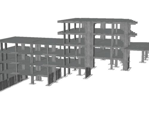 Μελέτη Στατικής Επάρκειας Οκταώροφου κτιρίου στη Β. Εύβοια