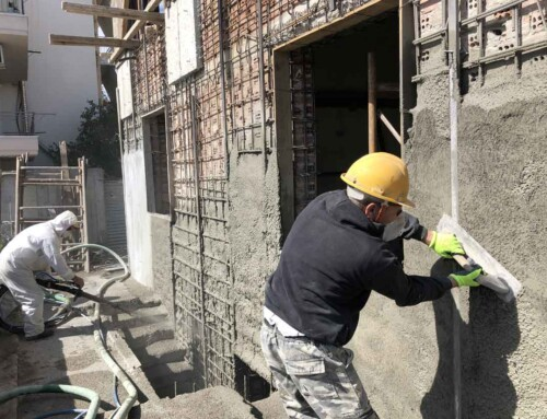 Strengthening of a residential building in Chalkida