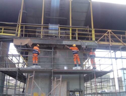 Εργασίες Ενίσχυσης σε Βιομηχανική Εγκατάσταση στο Αλιβέρι