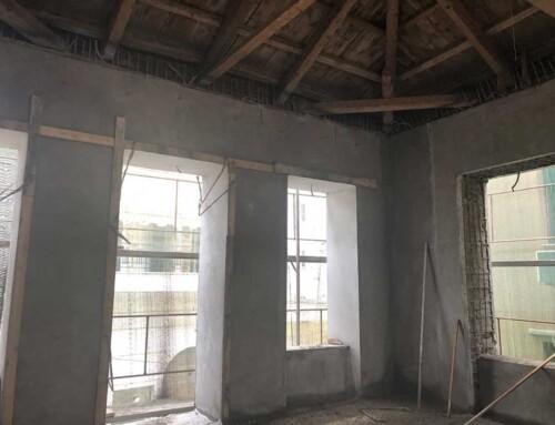 Εργασίες Ενίσχυσης Διατηρητέου Κτιρίου στην Πρέβεζα