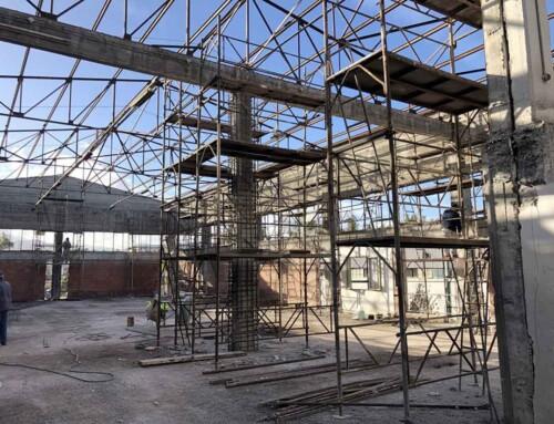 Ενίσχυση Φ.Ο. Βιομηχανικού Κτιρίου στα Οινόφυτα